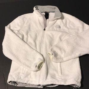 Northface white jacket